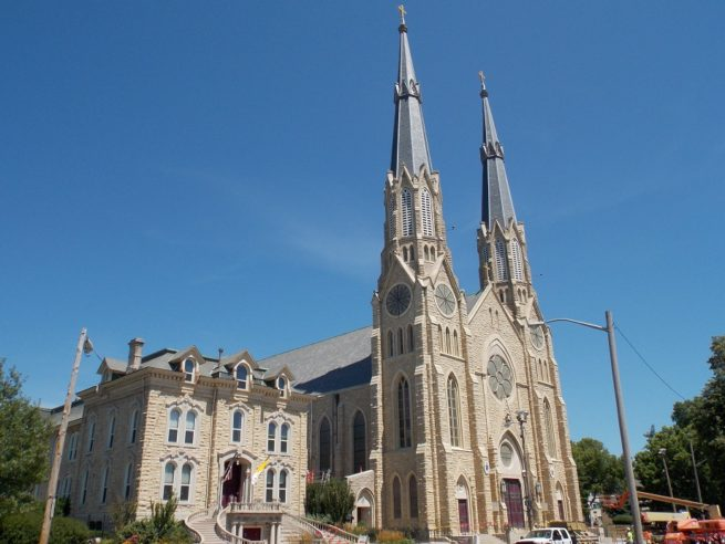 St. Mary's Cathedral Peoria Illinois