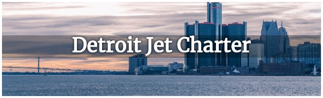 private jet to detroit