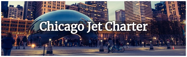 private jet to chicago