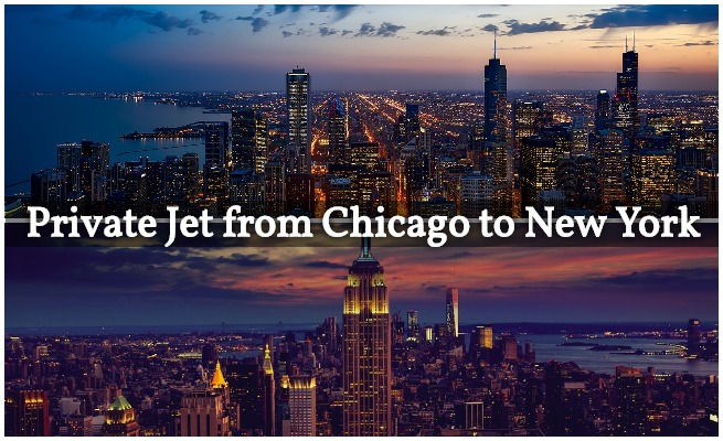 private jet charter chicago to new york city